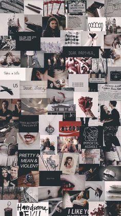 Intoxicate me | klaus mikaelson - The start of the ritual - Wattpad Vampire Diaries Poster, Vampire Diaries Quotes, Vampire Diaries Wallpaper, Vampire Diaries Cast, Iphone Wallpaper Tumblr Aesthetic, Black Aesthetic Wallpaper, Aesthetic Wallpapers, Retro Wallpaper, Dark Wallpaper