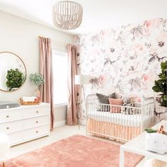 2061 Best Baby Girl Nursery Ideas images | Child room, Project ...