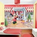 Minnie Mouse Cafe Wallpaper by Walltastic