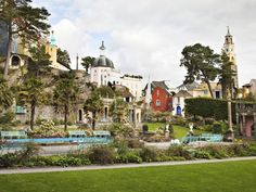 Check out Portmeirion on VisitBritain's LoveWall! The Italianate village of Portmeirion was the vision of architect, Sir Bertram Clough Williams-Ellis, who set about designing this classical confection in 1926. The pastel-coloured villas, piazzas and swaying cypress trees give the village a magical Mediterranean air.