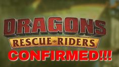 Dragons: Rescue Riders CONFIRMED?! - YouTube