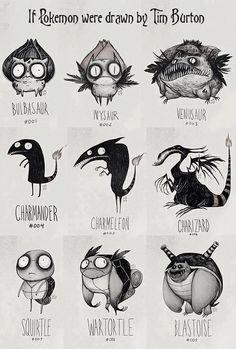 Clássicos da Disney e muito mais em estilo Tim Burton - Literatortura