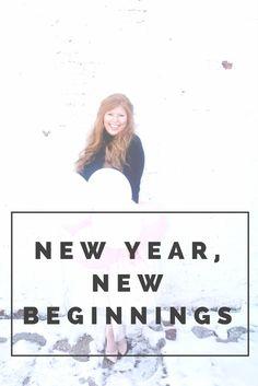 new year, new beginnings!