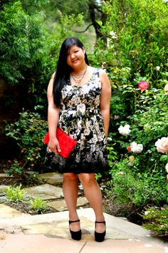 {Playing Catch Up} REAL Curvy Girl inspiration from Allison Tang, her blog: Curvy Girl Chic