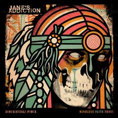 Irresistible Force (single) Jane's Addiction album cover design by ivan