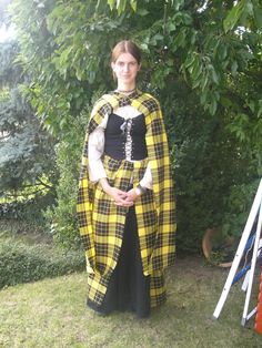 """Clothing: An earasaid is known as """"The Women's Great Kilt"""". It can be customized for many things. It can be long, short, for style, or for warmth. It is the typical dress for women."""