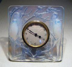 Lalique clock c. 1926