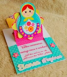 Convite Matrioska