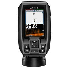 Garmin STRIKER 4cv Fishfinder w/77/200kHz ClearVu - 4-Pin Transducer w/Transom & Trolling Motor Mounts [010-01806-00]