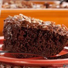 Got the baking bug? Cure it with this easy recipe for chocolate cake with a secret ingredient! Okay, we'll let the secret out. It's one of the world's most popular soft drink flavors.