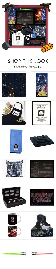 """Home: Star Wars, a Semi-Sophisticated Take on Geek Decor"" by brigitta-m ❤ liked on Polyvore featuring interior, interiors, interior design, home, home decor, interior decorating, Zuzunaga, S.T. Dupont, Episode and Irregular Choice"