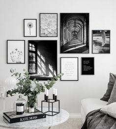 3 meest gemaakte fouten bij het maken van een gallery wall 3 most common mistakes when creating a gallery wall, make Inspiration Wand, Wall Design, House Design, Design Design, Design Hotel, Deco Studio, Deco Champetre, Black And White Posters, Black White