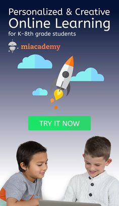 Miacademy is an interactive learning site offering a well-rounded K-8th grade learning experience. Try it now!