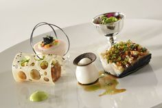 Lyon Bocuse d'Or winner Danish chef Rasmus Kofoed with his peace of art from January 2011.