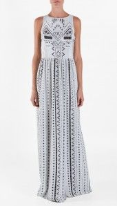 printed eyelet dress, Tibi. Love