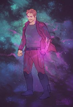 Star Lord (Peter Quill) || Guardians of the Galaxy