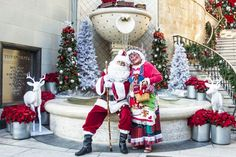 Bring the family to Beverly Hills this holiday season! Santa and Mrs. Claus will be visiting the city on select dates, spreading holiday cheer and hosting fun festivities for the whole family.