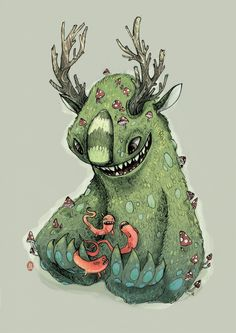 Creatures.. on Behance