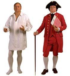 Colonial period men's clothing