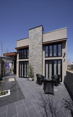 #歯科医院デザイン#木造建築#水盤のあるテラス