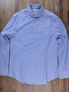 auth BRUNELLO CUCINELLI slim-fit striped cotton linen shirt - Size XXL - NWT