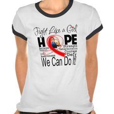 Aplastic Anemia Fight We Can Do It T Shirts by fightlikeagirlgiftshop.com  #fightlikeagirl #aplasticanemia #aplasticanemiaawareness