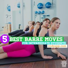 Ballet barre workout- five favorite barre moves for at-home