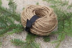 Rustic JUTE  twine  40  yards  BROWN paper Packages, tied up with string! by lassothemoon on Etsy  $5.00 Come in and use the coupon code 10PIN for 10% off your entire purchase, anytime http://lassothemoon.etsy.com