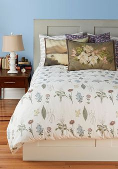 Blanketed in Blossoms Duvet Cover in Twin, #ModCloth