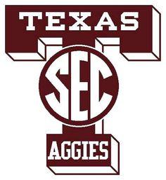 Perfect Texas A U0026 M University Aggies   New SEC Logo Part 27