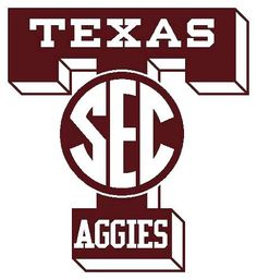 Texas A & M University Aggies - new SEC logo
