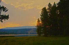 Georgetown Lake, Montana, Dawn
