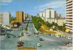 Plaza América. Vigo. Años 80