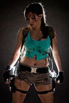 Lara Croft by Adam Jay http://geekxgirls.com/article.php?ID=232