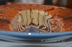 """A Culinária e Eu ...: Bolo de Nutella """"zebrado"""""""