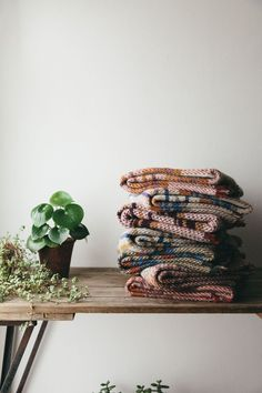 Our British made recycled 100% wool blanket is made from excess and leftover material and yarns. What this creates is an eco-friendly British made throw totally unique to you.