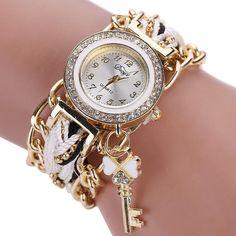 $2.40 (Buy here: https://alitems.com/g/1e8d114494ebda23ff8b16525dc3e8/?i=5&ulp=https%3A%2F%2Fwww.aliexpress.com%2Fitem%2FHot-Duoya-Women-Quartz-Bracelet-Wrist-Watch-Key-Ribbon-Band-pulsera-mujer-relojes-montres-femmes-relogio%2F32740817224.html ) Hot Duoya Women Quartz Bracelet Wrist Watch Key Ribbon Band pulsera mujer relojes montres femmes relogio feminino WSep28 for just $2.40