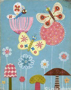 Etsy Bug Series by Linda Solovic, via Behance