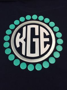 Preppy Dots Monogram Shirt by BurlapandLaceSC1 on Etsy https://www.etsy.com/listing/252763270/preppy-dots-monogram-shirt