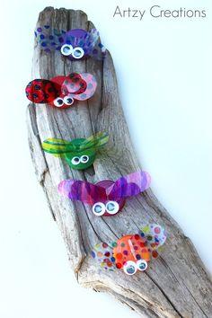 Bottle-Cap-Bugs-Artzy Creations 8