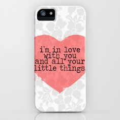 Little Things- One Direction iPhone & iPod Case by mysteryxmeow - $35.00