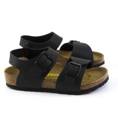Sandales New York Black  pour enfant Birkenstock - Maralex Kids