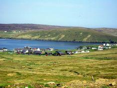 Mid Yell of the Shetland Islands, Scotland
