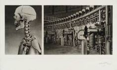 """Sir Eduardo Paolozzi - series """"Cloud atomic laboratory"""" about the influence of machines and technology - """"victims of technology"""" (Frank Whitford)"""