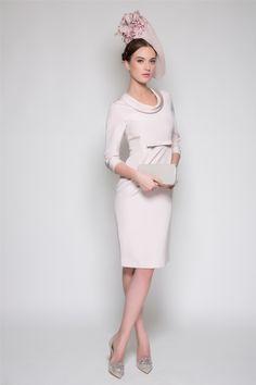 Silk Cowl Neck model shot