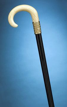 Antique Canes and Walking Sticks, Decorative Canes, Ivory and Ebony ~ M.S. Rau Antiques