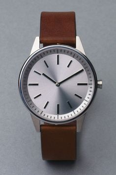 Classic, clean lined watch
