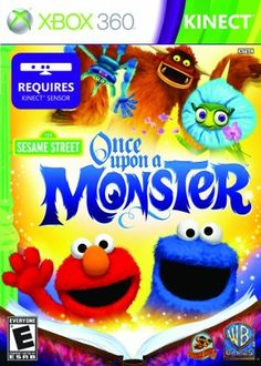 Sesame Street Once Upon A Monster  Xbox 360 by Warner Bros *** Want to know more, click on the image. Note:It is Affiliate Link to Amazon.