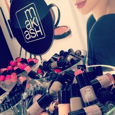 @MAKIASH Makeup i monter F:10 ATTITUDE-mässan @Sixten Widlöf  Redo