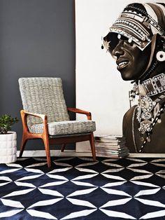 △☆idb #African inspiration #modern #interior Fenton and Fenton Winter 2013…